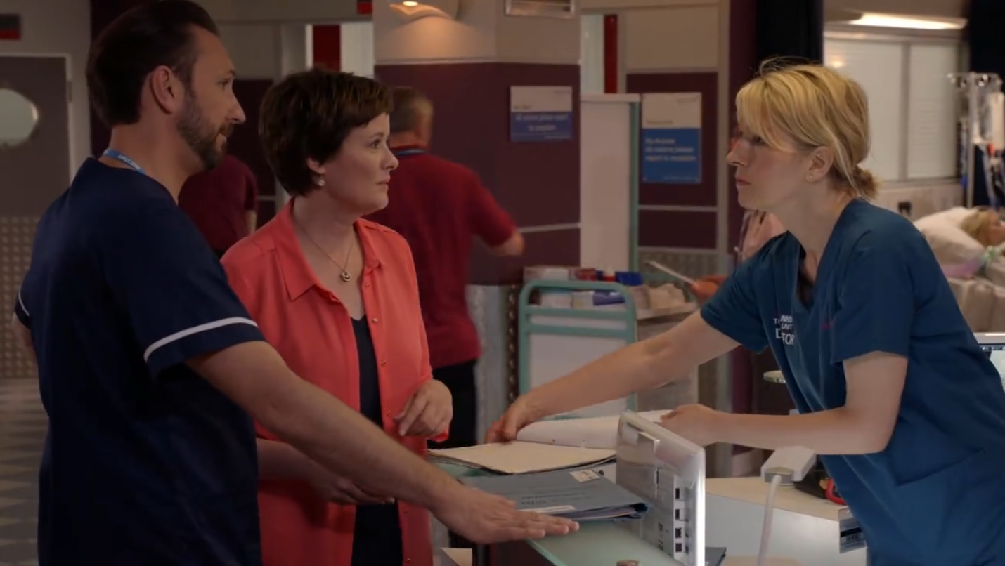 Video Preview: Holby CIty 18×47 'Protect and Serve'